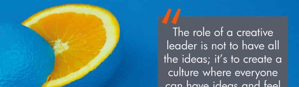 Creative leadership and the leadership of creativity
