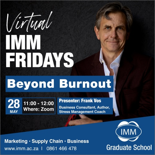 IMM Friday - 28 May 21 - Frank Vos