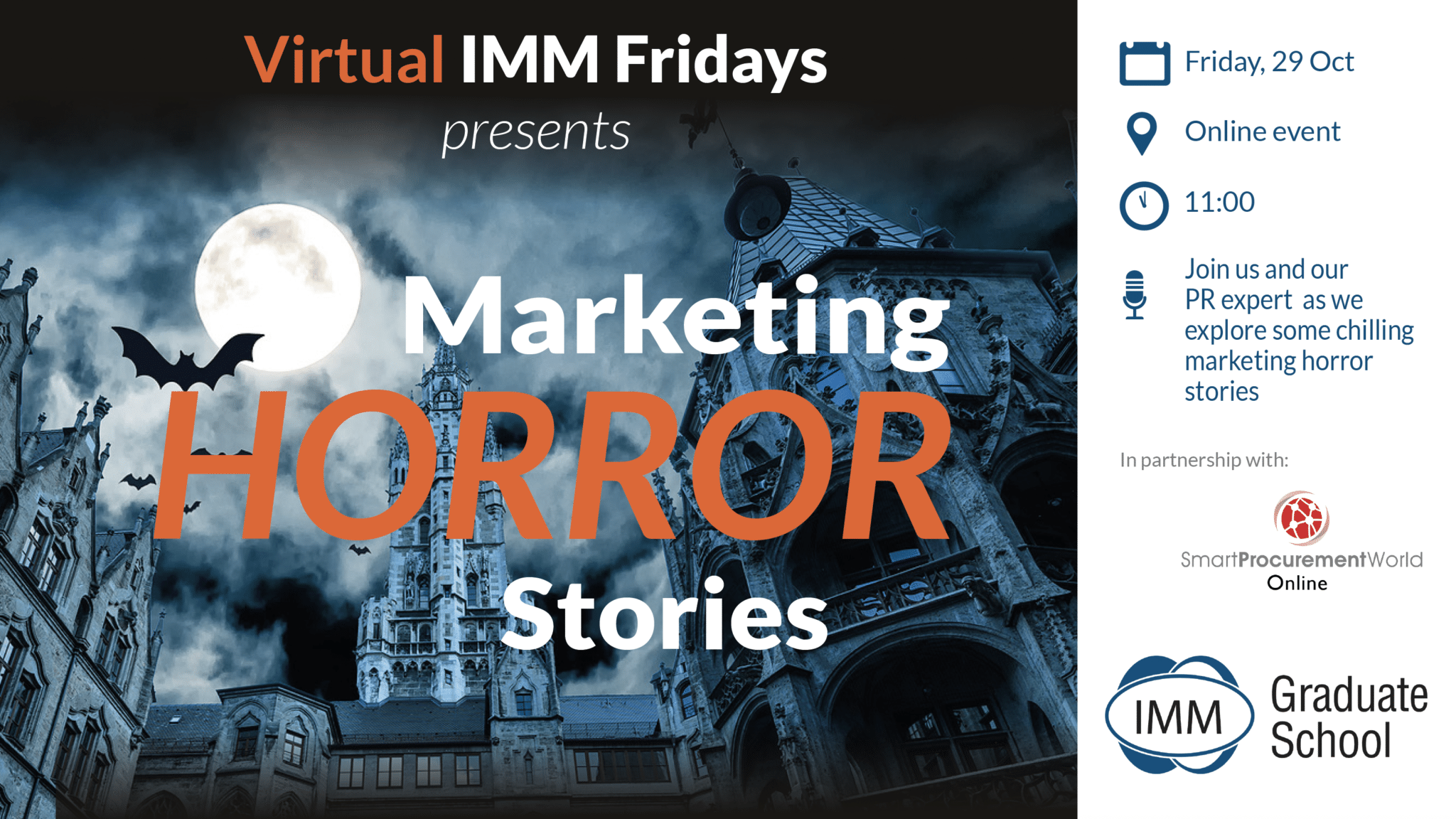 IMM Friday 29 Oct - Horror stories