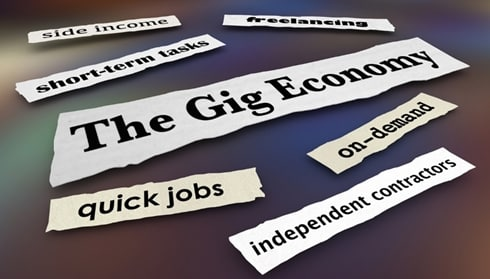 The Gig Economy web
