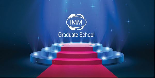 The show must go on - A behind the scenes view of the IMM Graduate School in motion web