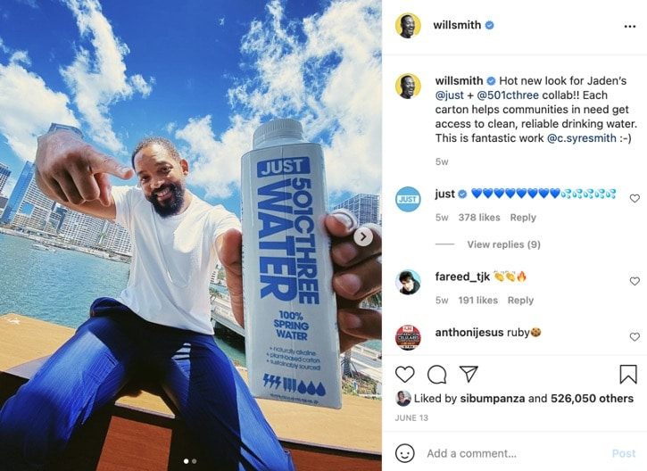 Will Smith Instagram - IMM Blog Image