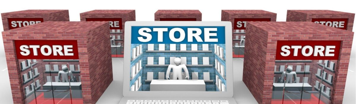How e-Commerce stores have started opening up physical stores and physical stores went digital